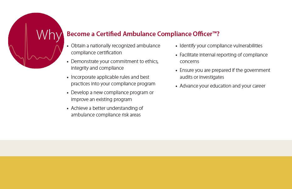 Caco Brochure National Academy Of Ambulance Compliance