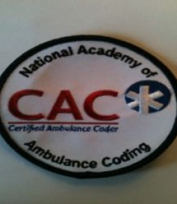 CAC Patch on white